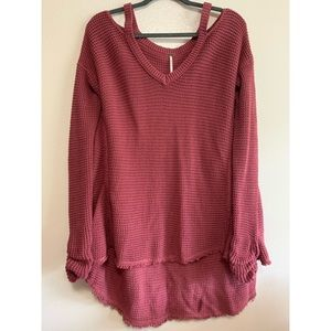 Free people oversize sweater